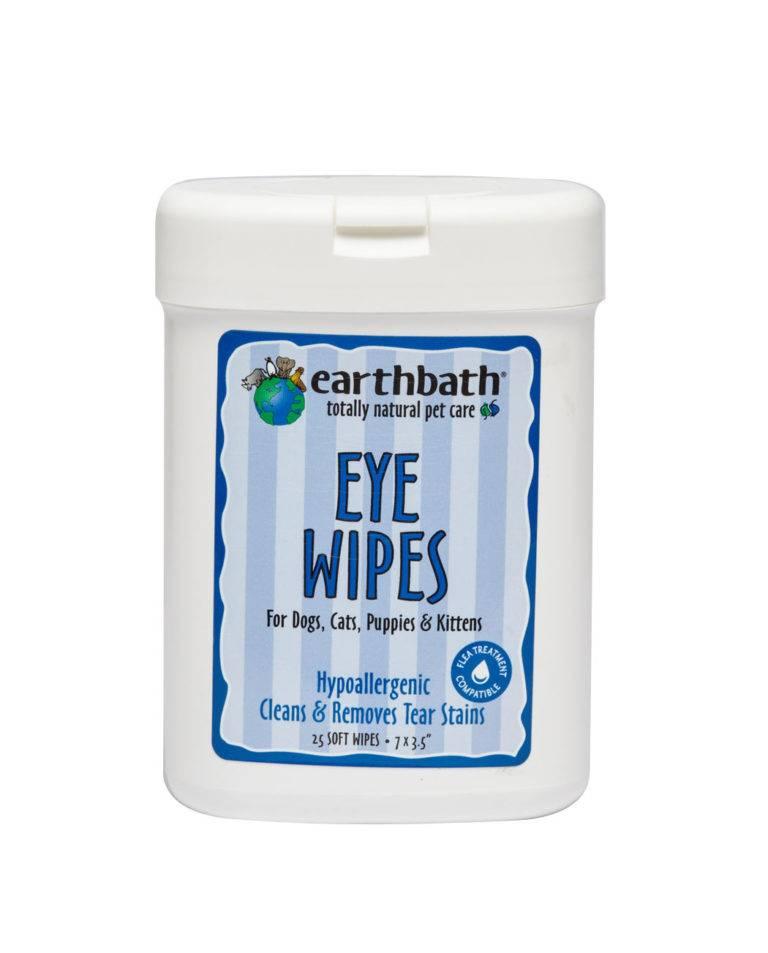 Earthbath Earthbath Eye Wipes 25ct