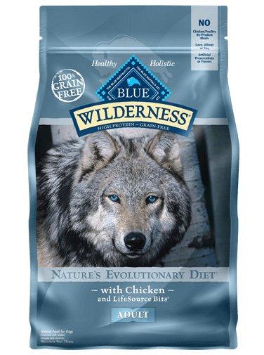 Blue Buffalo Blue Buffalo Wilderness Chicken Adult Dry Dog Food 24 Lb.