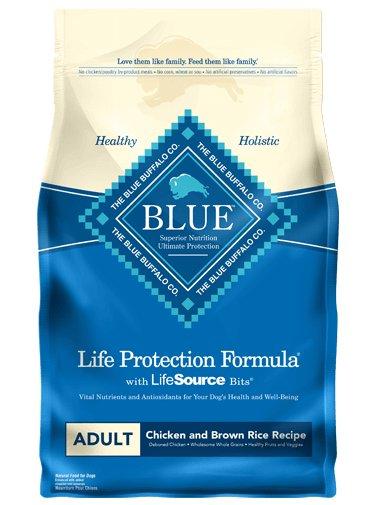Blue Buffalo Blue Buffalo Chicken & Brown Rice Adult Dog Food 15 Lb.