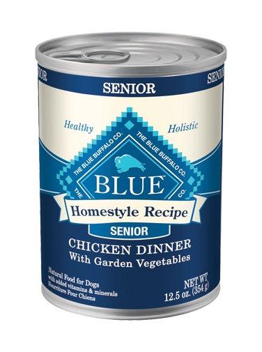 Blue Buffalo Blue Buffalo Homestyle Recipe Senior Chicken Dinner Canned Dog Food 12/12.5oz