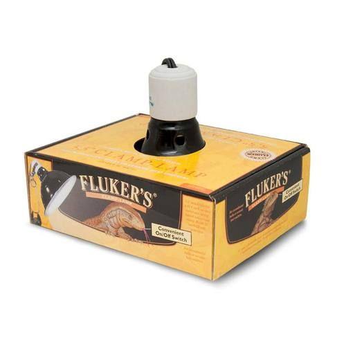 "Fluker Farms Fluker's Repta Clamp Lamp 8.5"" W/ Switch"