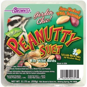 F.M Browns F.M. Brown's Garden Chic Peanutty Suet 8/cs