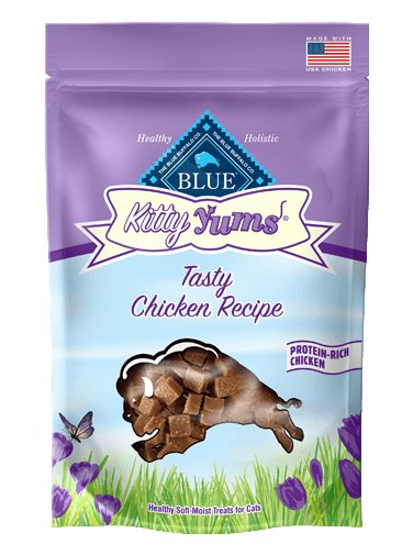 Blue Buffalo Blue Buffalo Kitty Yums Tasty Chicken Cat Treats 2oz