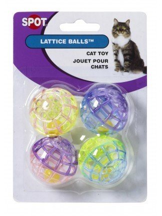 Ethical Pet Products Ethical Pet Lattice Ball Cat Toy 4Pc