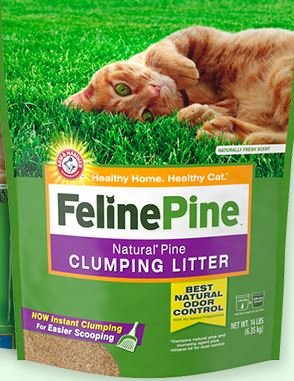 Feline Pine Feline Pine Natural Cat Litter 20 Lb.