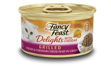 Fancy Feast Fancy Feast Delights Grilled Chicken & Cheddar Cheese Canned Cat Food 24/3oz