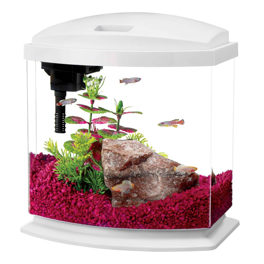 Aqueon Aqueon Mini Bow 2.5 Gal White