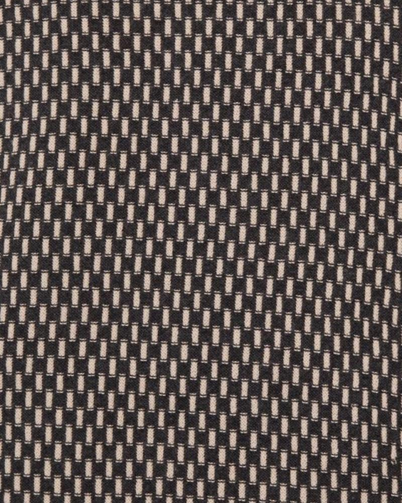 """DUKE COTTON INTRICATE KNIT THROW: 52"""" X 72"""": ANTHRACITE-TAUPE"""