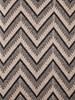 "DILLON MODERN HERRINGBONE THROW: 50"" X 70"": ANTHRACITE-BEIGE"