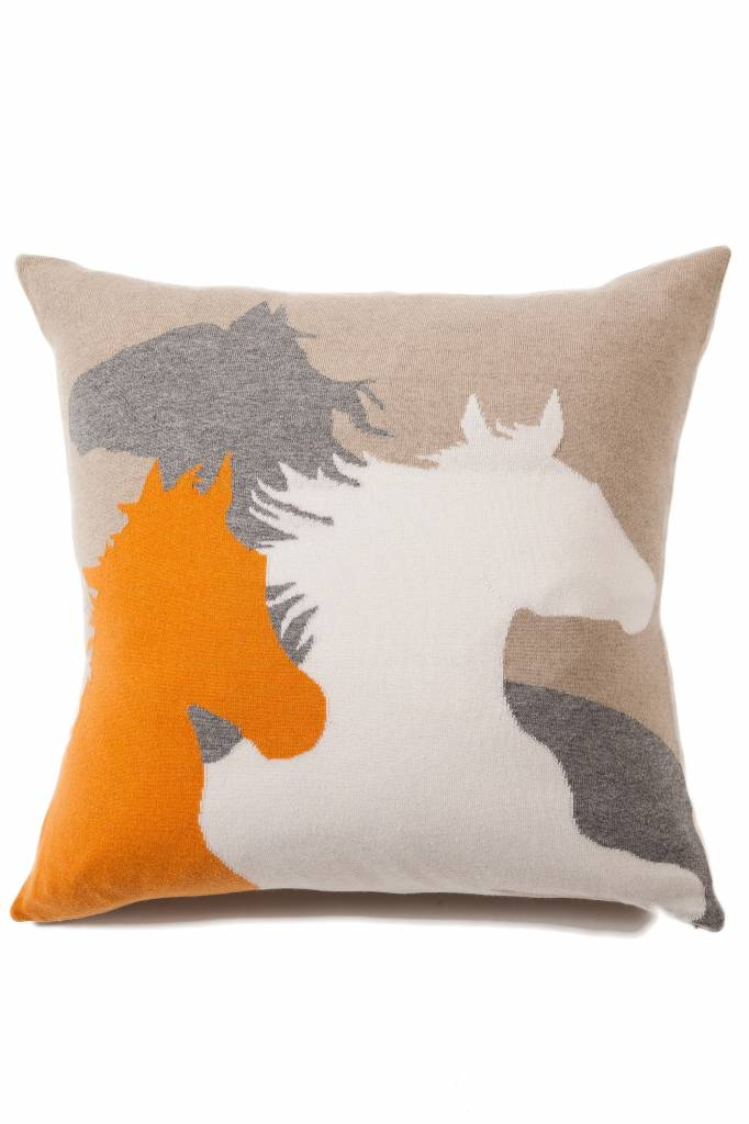 horse pottery barn pillow cover products c painted