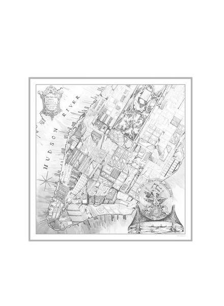 NEW YORK SHAWL