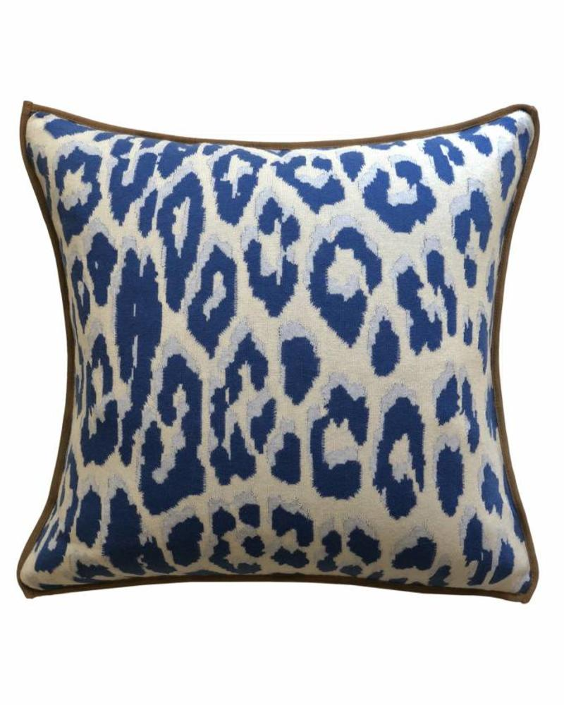 pillows chairish schumacher print pillow leopard product