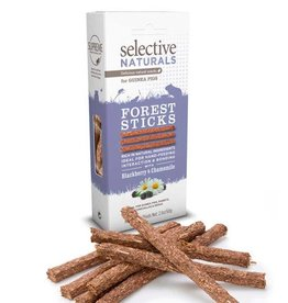 Selective Naturals Forest Sticks for Guinea Pigs with Blackberry & Chamomile 60g