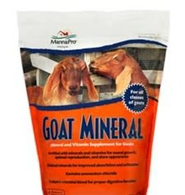 MANNA Goat Mineral 8 lb bag