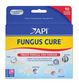 MARS FISHCARE NORTH AMERICA IN API MED FUNGUS CURE PWDRPCKTS