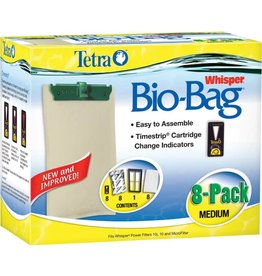SPECTRUM BRANDS - TETRA TET CRTRDG BIOBAG MD 8PK