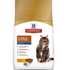 Science Diet Feline ADULT Hairball Control  3.5 lb.