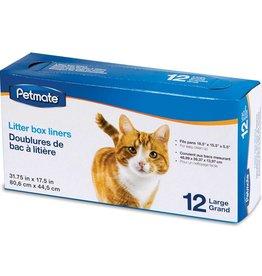 DOSK CAT PAN LINER  LARGE 12/BX 72/DOSK