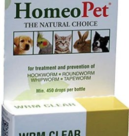 HOMEO WORM CLEAR D&C  15ML  HOMEO