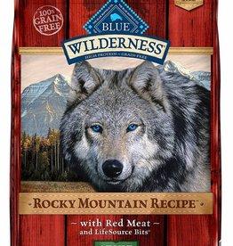 BLUE BUFFALO Blue Wilderness Dog  Red Meat 22lb