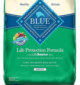 Blue Buffalo Dog Adult Lamb & Rice 30#