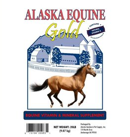 Alaska Equine Gold 20lb pail