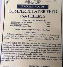 Layer 16%  Pellet NCNS 50 lb