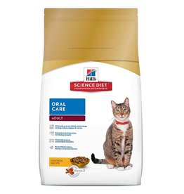 Science Diet Feline ADULT Oral Care 3.5lb