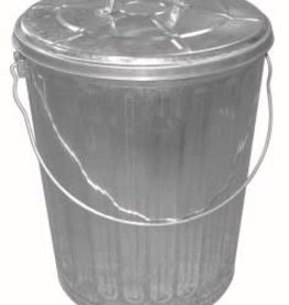 DOVER GARBAGE CAN WITH COVER 10GAL 910