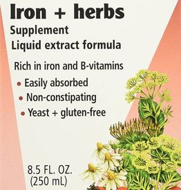 Floradix Floravital Iron & Herbs yeast free  8.5 oz