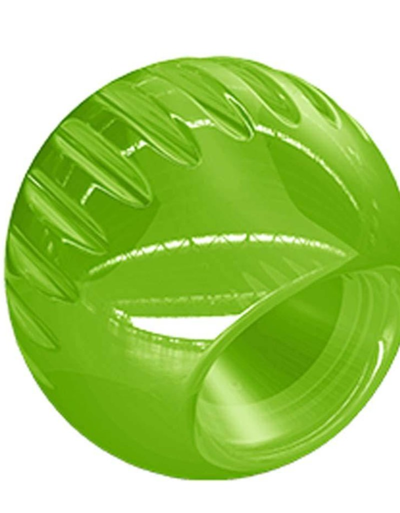 Bionic Supernatural Strong Chew Toy for Dogs Ball Green Medium