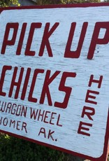 Chicks at the Wagon Wheel
