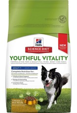 Hill's Science Diet Youthful Vitality Adult 7+ Chicken & Rice Recipe Dog Food 12.5 lb