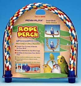 Penn-Plax ROPE PERCH FOR SMALL BIRDS
