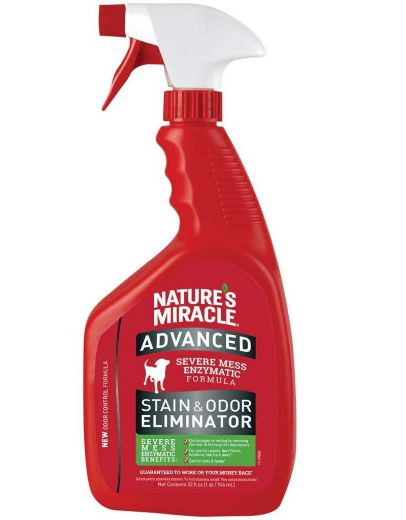 Nature's Miracle Advanced Stain & Odor Eliminator Spray 32oz