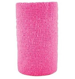 "WRAP-IT-UP 4"" HOT PINK EA ASI"