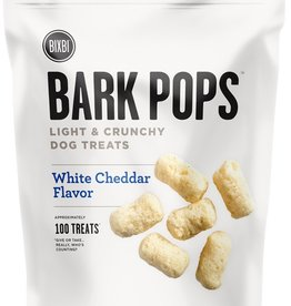 Bixbi Bixbi Dog Treat Bark Pops White Cheddar 4 oz