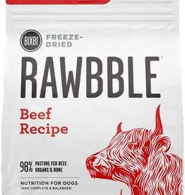 Bixbi Bixbi Dog Rawbble FD Food GF Beef 14 oz