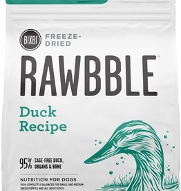 Bixbi Bixbi Dog Rawbble FD Food GF Duck 12 oz