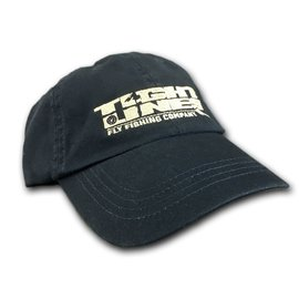 TIGHT LINES HAT NAVY WITH KHAKI LOGO