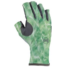 Buff Angler 3 Glove Camo Green
