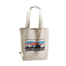 PATAGONIA Market Tote '73 Logo: Bleached Stone ALL