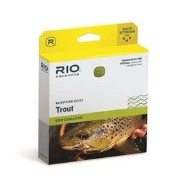 RIO Rio Mainstream Trout - Lemon Green