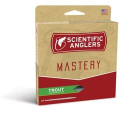 SA Scientific Anglers Trout Line - Optic Green/Green