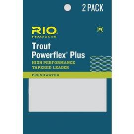 RIO 7.5' Rio Powerflex Plus Leader 2 Packs