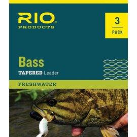 RIO 9' Rio Bass Leader 3 Pack