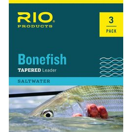 RIO Rio Bonefish Leader 3 Packs