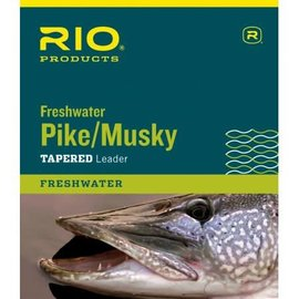 RIO PIKE/MUSKY II 7.5' 30LB CLASS 30LB STAINLESS WIRE WITH SNAP