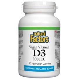 Natural Factors Vegan Vitamin D Natural Factors 180vcaps