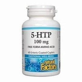 Natural Factors 5-HTP 100mg 60 enteric coated caplets